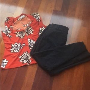 Loft pants in good condition, size 6